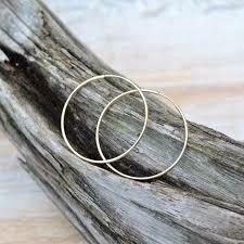 """Gold Filled Endless Hoop Earrings- 1.5"""""""