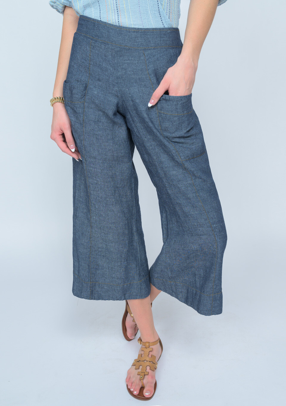 Crop Slouch Pant
