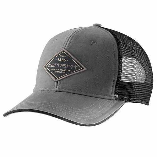 CARHARTT CANVAS MESH-BACK GRAPHIC HAT