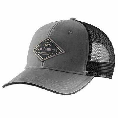 CARHARTT CANVAS MESH-BACK GRAPHIC HAT