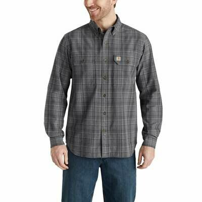 CARHARTT NEW FORT PLAID CHAMBRAY SHIRT
