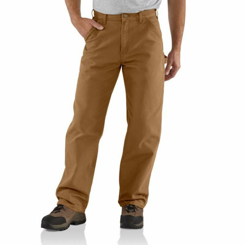CARHARTT WASHED DUCK WORK PANTS