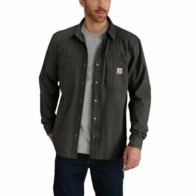 CARHARTT RUGGED FLEX® RIGBY SHIRT JAC / FLEECE-LINED