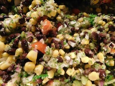 Black Bean Protein Bowl