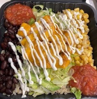 Grilled Chicken Protein Bowl