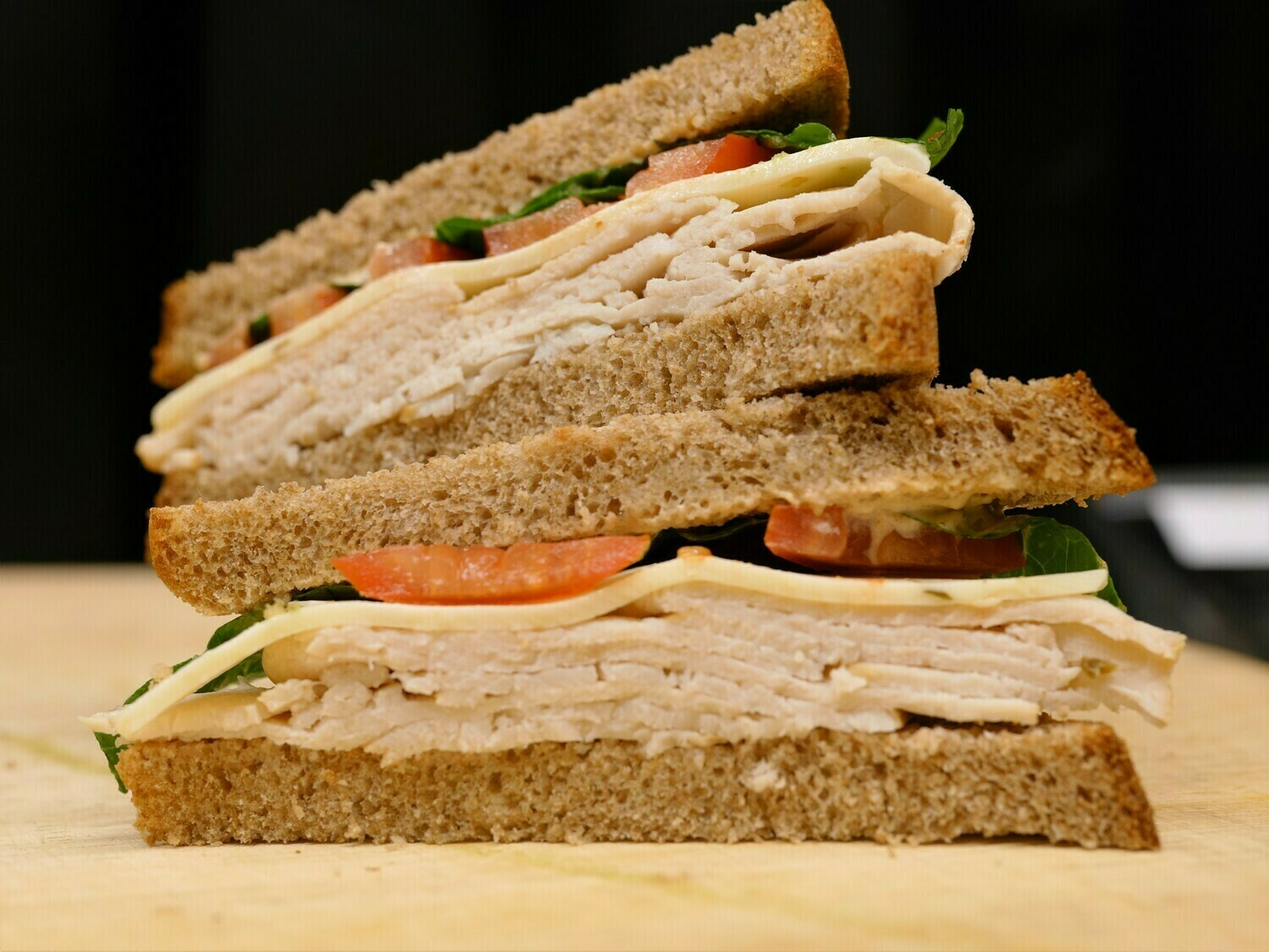 Roast Turkey & Jack Cheese Sandwich
