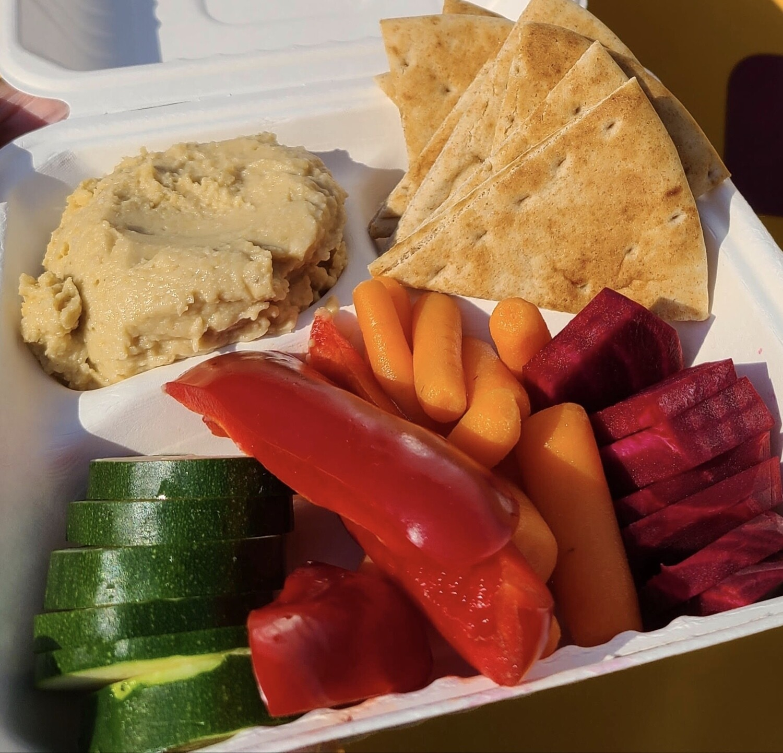 Hummus Plate - Full