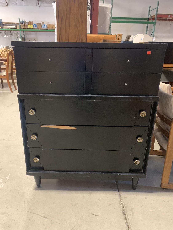 025 Older Black Dresser