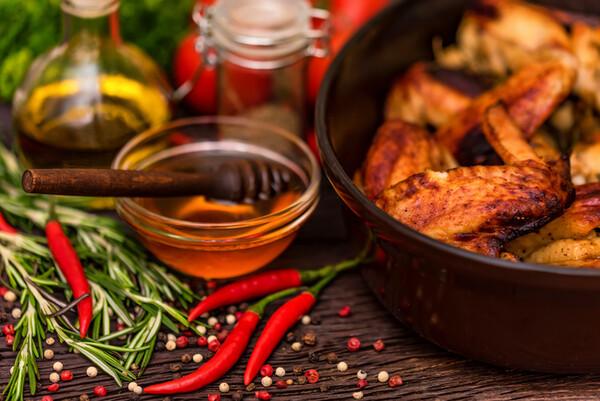 Serrano Chili Honey Vinegar