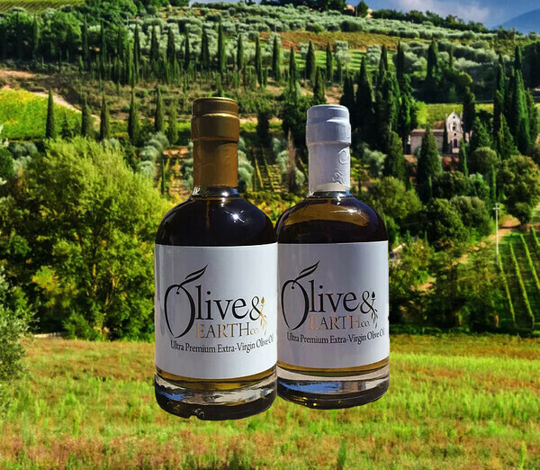 Olive & Earth Co. Robust Ultra Premium Extra-Virgin Olive Oil