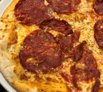 SA-Mittag:  Pizza Salami scharf Ø 29 cm
