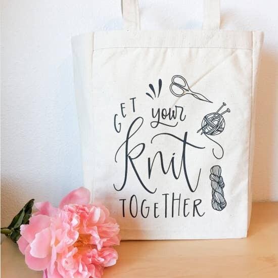 Get Your Knit Together Tote Bag