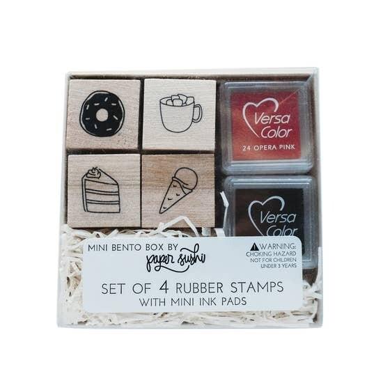 Dessert Mini Stamp Set