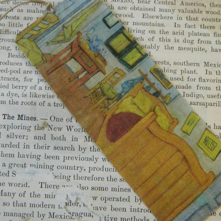 Bookmark Art Van Gogh Bedroom In Arles