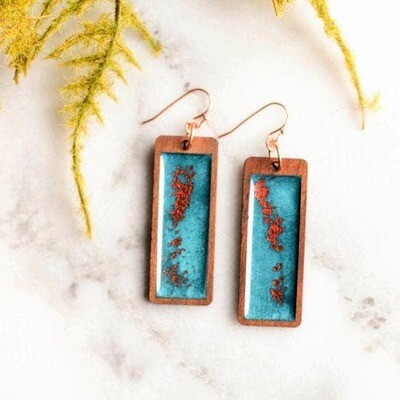 Copper Skies Earrings