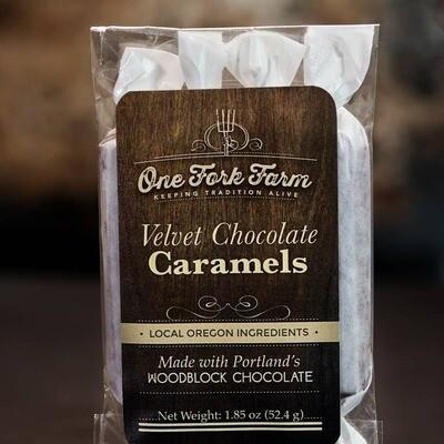 1.8oz. Velvet Chocolate Caramels