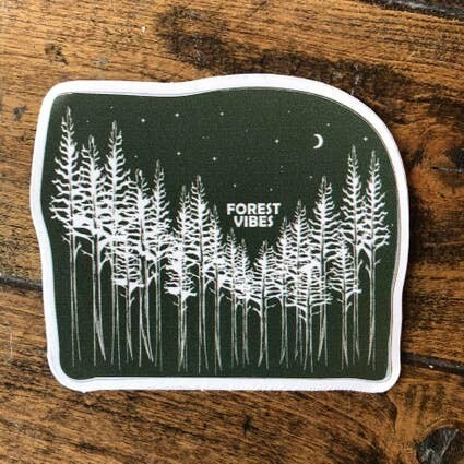 Forest Vibes Sticker