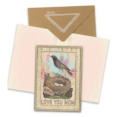 Greeting Card - Love You Mom