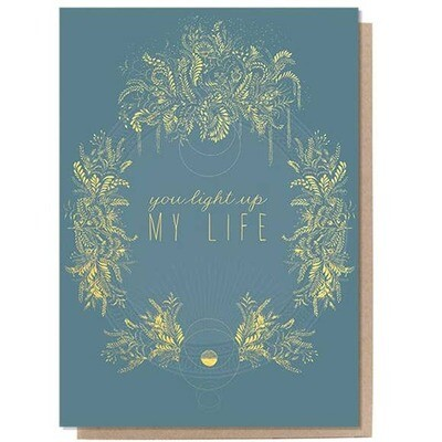 Greeting Card - Light Up My Life