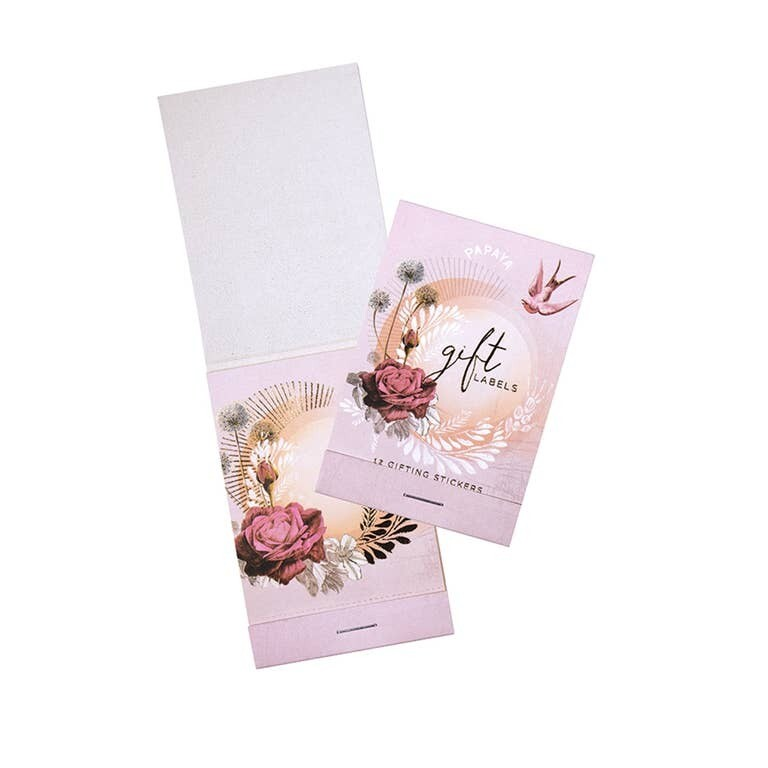 Gift Labels - Lavender Rose - SALE