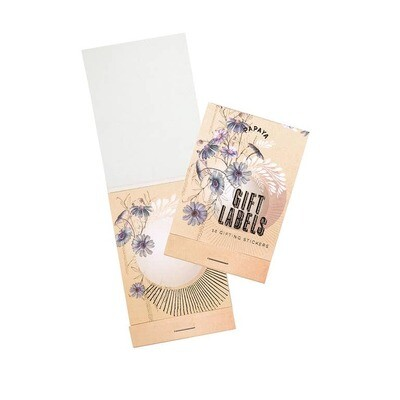 Gift Labels - Blue Cosmos - SALE