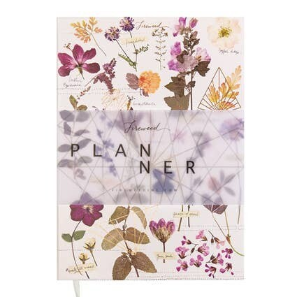 Dateless Planner- Love Garden