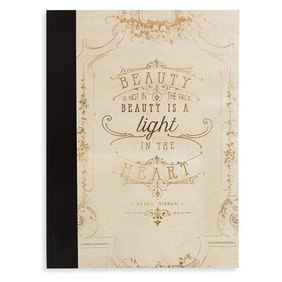 Clothbound Notebook-Magic of Beginning- SALE