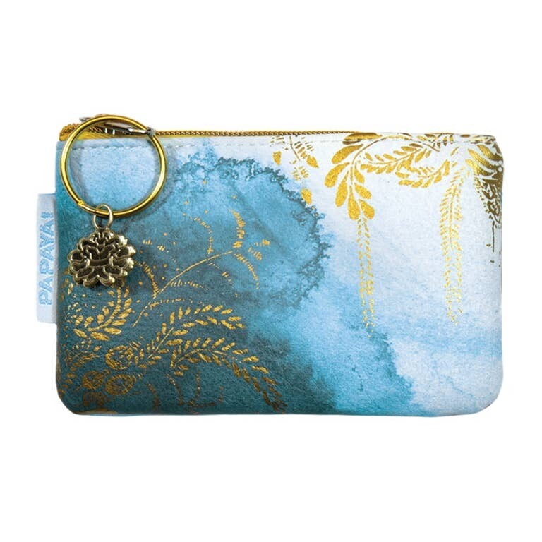 Coin Purse - Catalina Watercolor