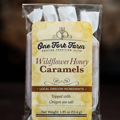 1.8oz. Wildflower Honey Caramels