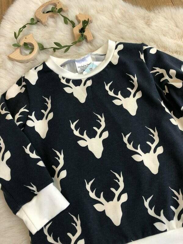 Long Sleeve Shirt- Navy Blue