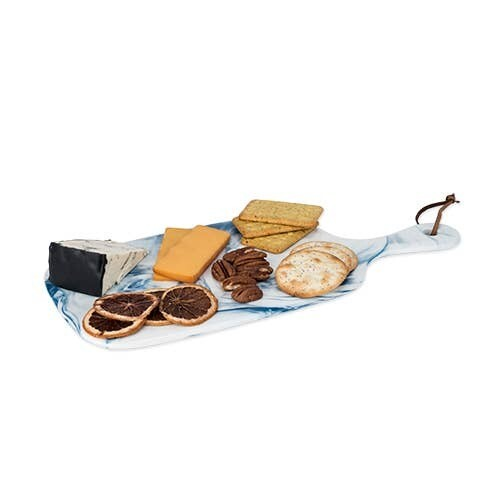 Seaside: Marbled Ceramic Cheese Board by Twine