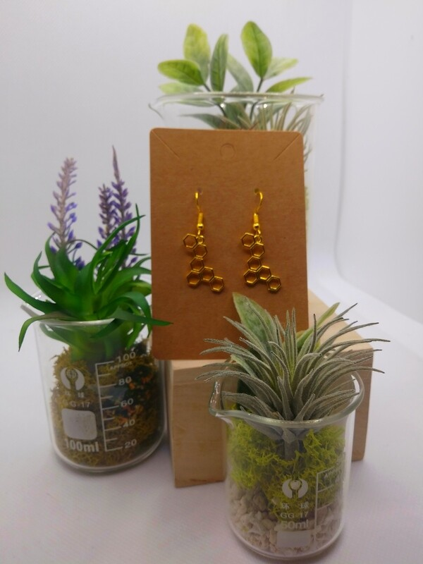 Honeycomb- Earrings