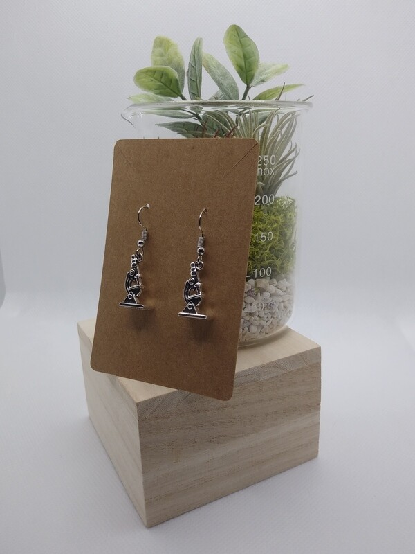 Microscope- Earrings