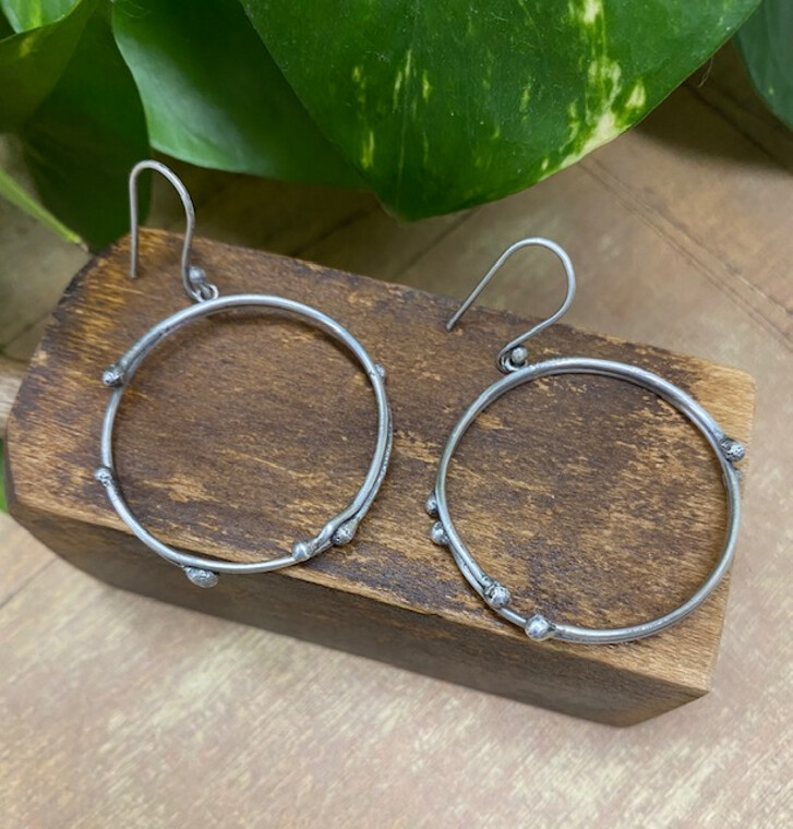 Eclectic Hoop Earrings