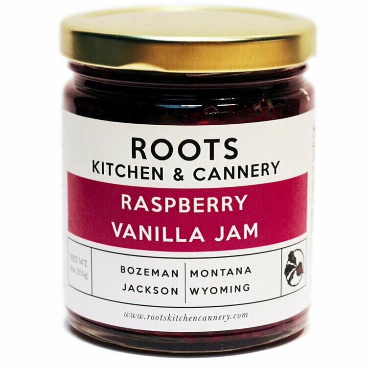 Raspberry Vanilla Jam