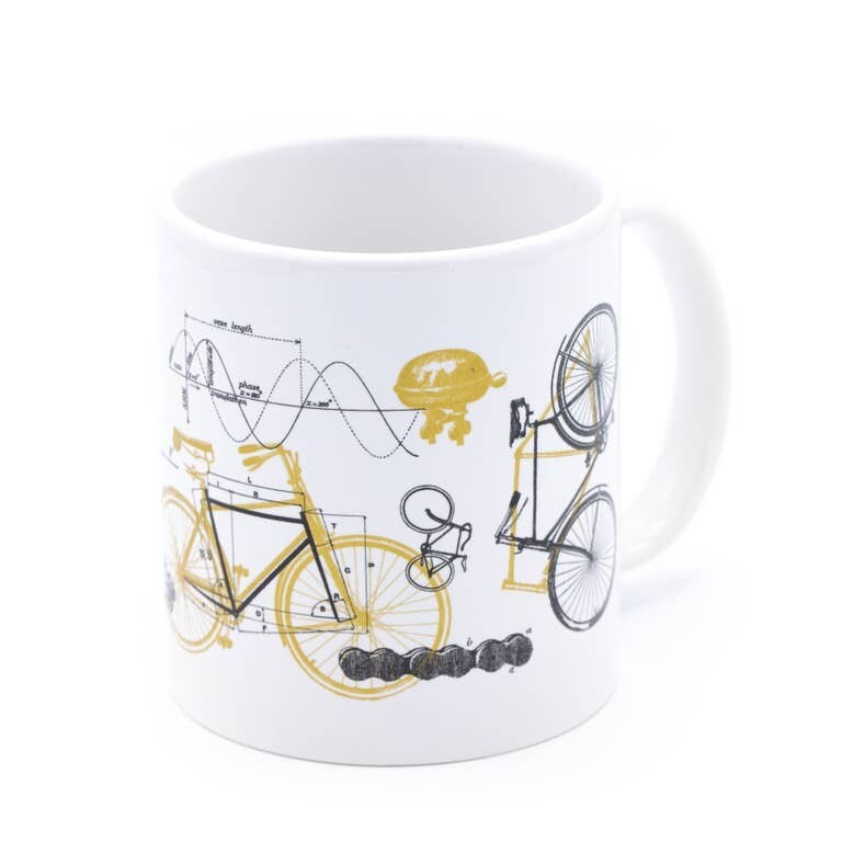 20 oz Bicycle Science Mega Mug
