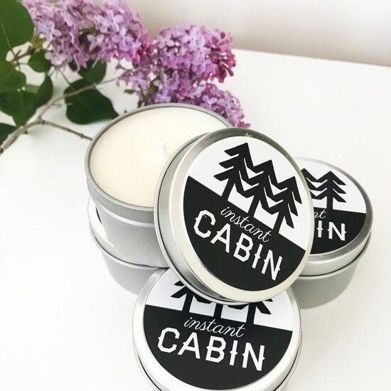 Instant Cabin Scented Candle