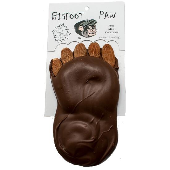 2.75oz Bigfoot Paw- Almonds, Caramel and Milk Chocolate