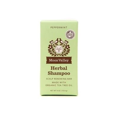 Peppermint Tea Tree Shampoo Bar