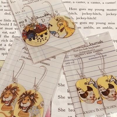 Book Lover Earrings -- Assorted