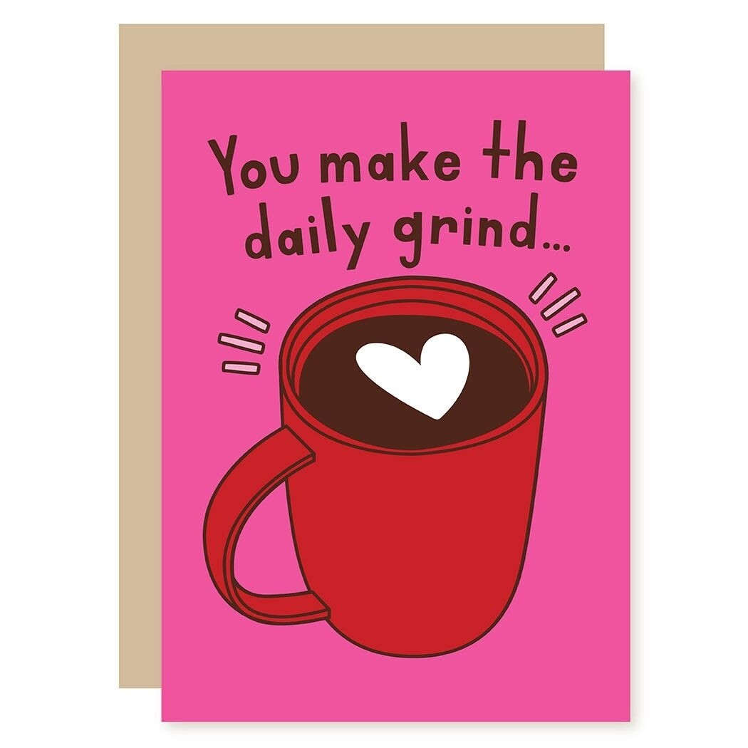 Coffee Mug Greeting Card