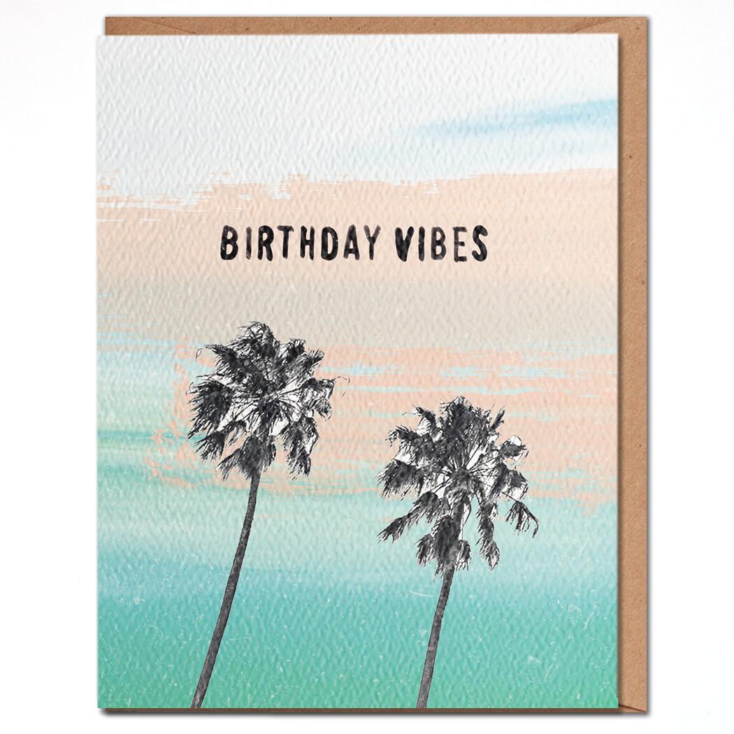 Birthday Vibes Card