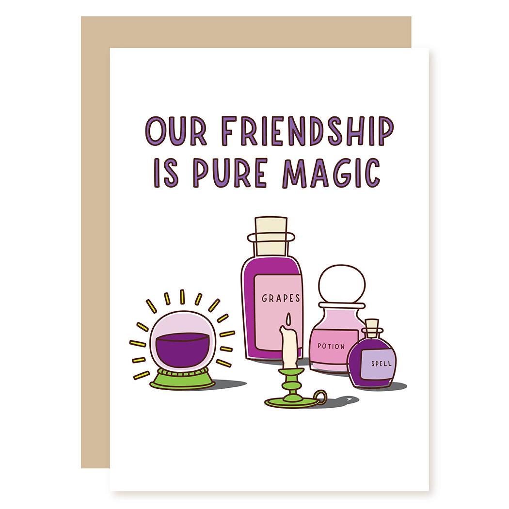 Valentine's Magic Greeting Card
