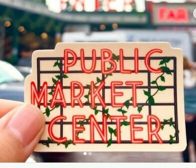 Market Day Sticker