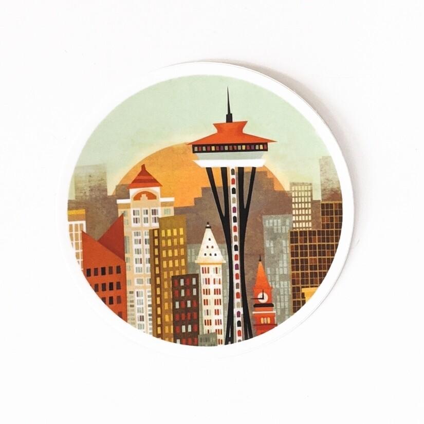 Vinyl Sticker Seattle