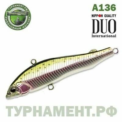 Раттлин DUO Refina  80H, 80 мм, 19.0 гр., тонущ. (DUO-REF80H-A136)