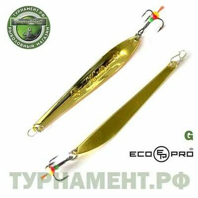 Блесна вертикальная ECOPRO Killer, 90мм, 15гр,  G