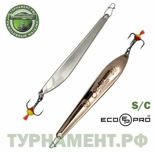 Блесна вертикальная ECOPRO Killer, 90мм, 15гр,S/C