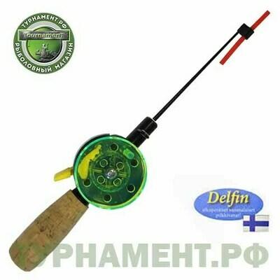 Удочка зимняя DOLPHIN Судак - 50 пробк.ручка