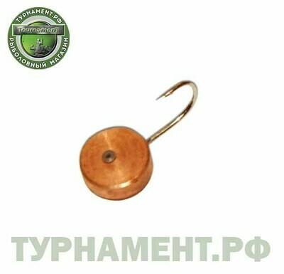 Мормышка вольфрамовая Тульская Шайба 4,0Шм/0,30гр
